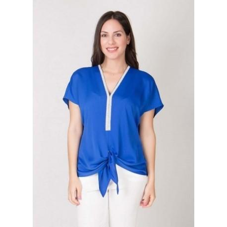 Mara's Collection 1113 Μπλούζα Μπλε Ρουά