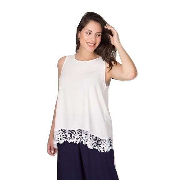 Mara's Collection 1149 Μπλούζα λευκή