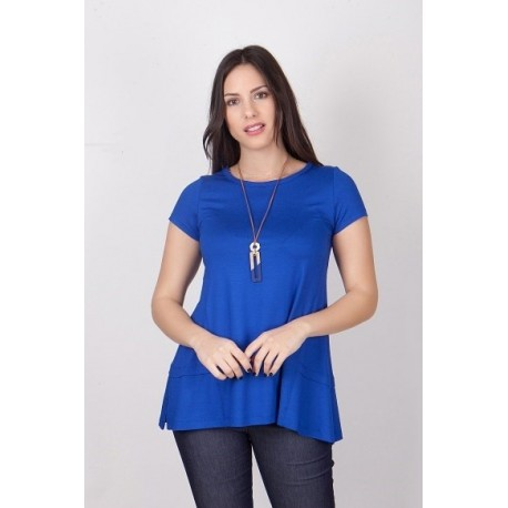 Mara's Collection 1065 Μπλούζα Μπλε Ρουά