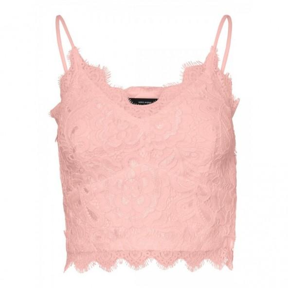 Vero moda 10229108 crop top corset LOVISA chintz rose