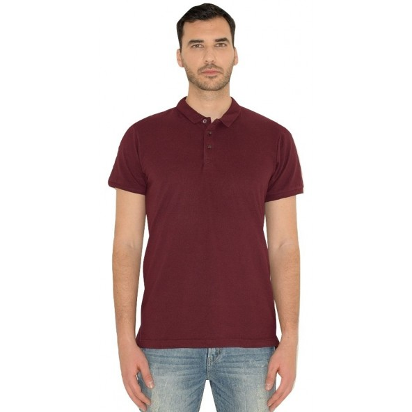 Smart 43-206-033 polo shirt bordeaux