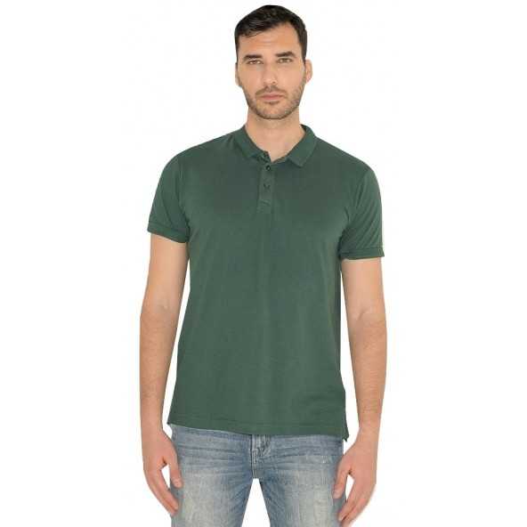 Smart 43-206-033 polo shirt green