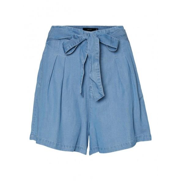 Vero moda 10209543 σορτς light blue