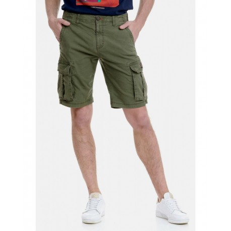 Funky buddha FBM00100203 cargo shorts OLIVE