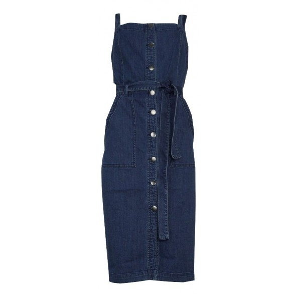 Vero moda 10207152 VMJULIA DENIM DRESS MEDIUM BLUE DENIM