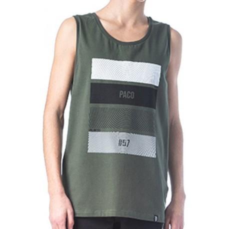 Paco 201587 t-shirt khaki