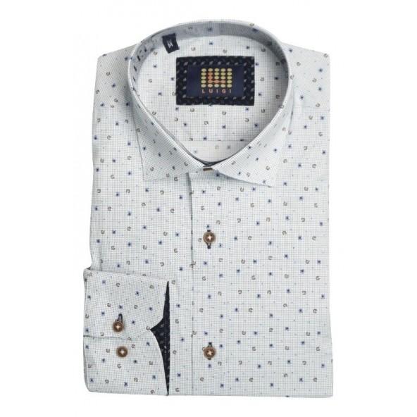 Luigi 018-2008 754 shirt white