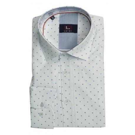 Luigi 020-3002 2137 shirt white