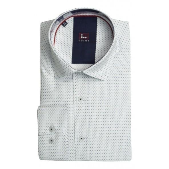 Luigi 020-3002 2092 shirt white