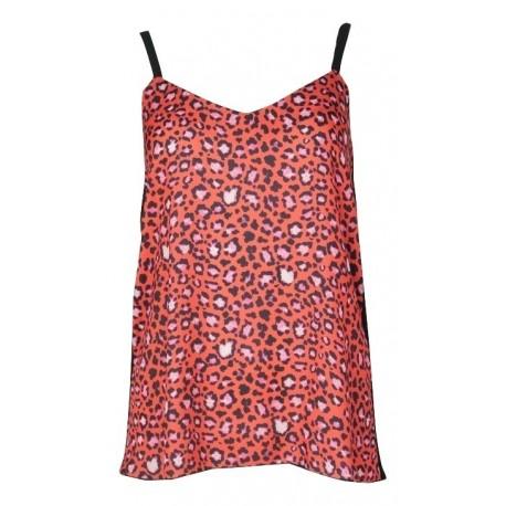 Lynne 141-510070 μπλούζα κοραλί