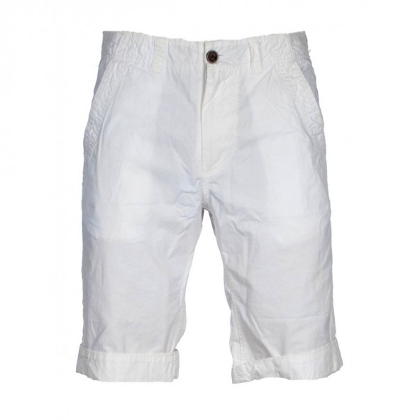 Biston 27-221-007 βερμούδα chinos Off white