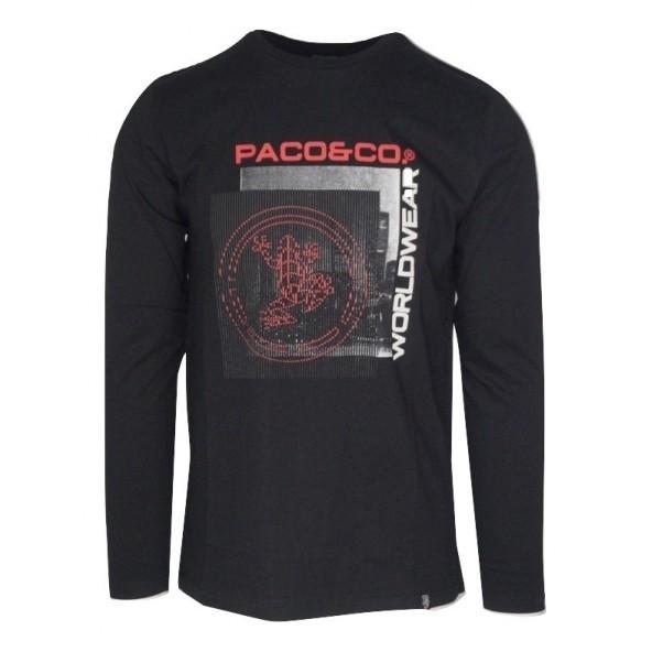 Paco 202570 T-SHIRT BLACK