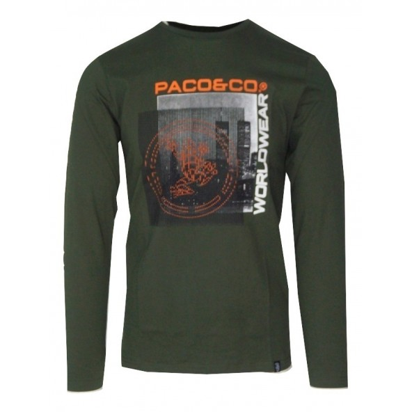 Paco 202570 T-SHIRT khaki