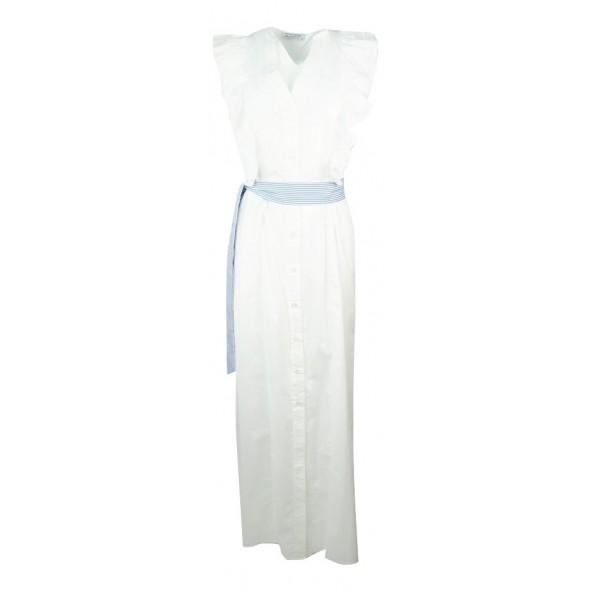 Bsb 137-111113 φόρεμα λευκό