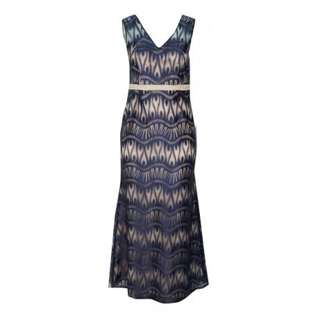 Gioltzoglou 1910E φόρεμα μπλε