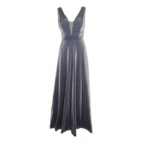 CECILIA A20C222 Φόρεμα ασημί