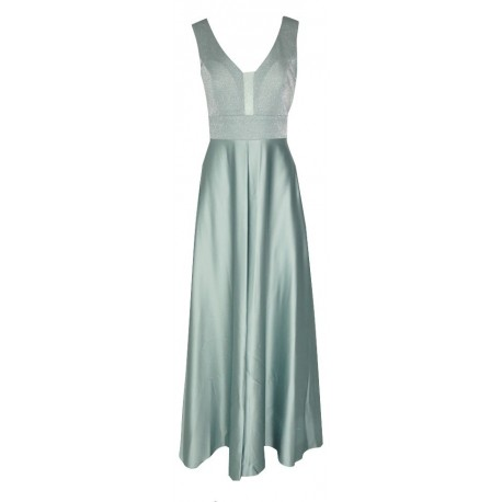 CECILIA A20P119 Φόρεμα σιελ