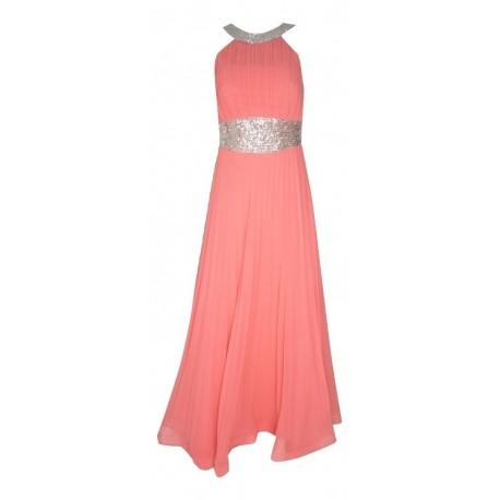 Gioltzoglou 2080 φόρεμα κοραλί