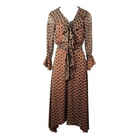 C-throu 190-6040 φόρεμα ταμπά