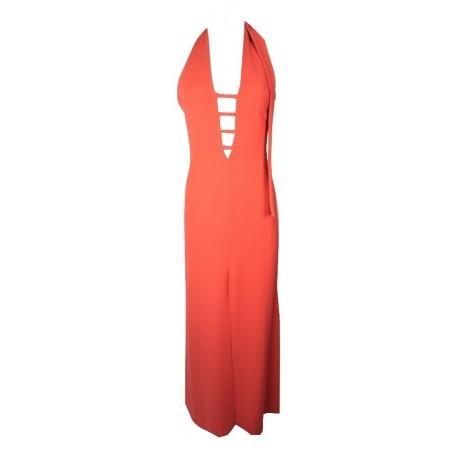 Bsb 133-111144 φόρεμα κοραλί