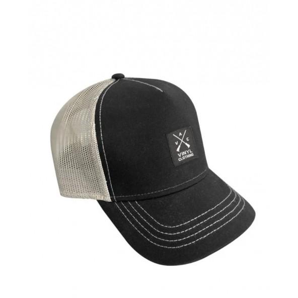 Vinyl art 537 καπέλο μαύρο