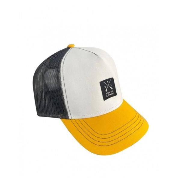 Vinyl art 537 καπέλο κίτρινο