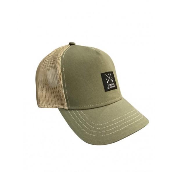 Vinyl art 2571 καπέλο χακί