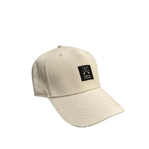 Vinyl art 184 καπέλο μπεζ