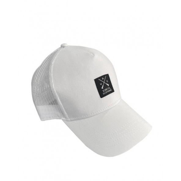 Vinyl art 888 καπέλο λευκό