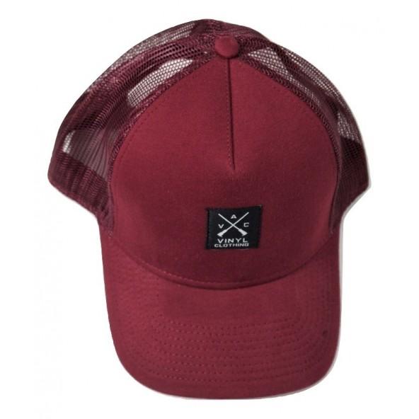 Vinyl art 2571 καπέλο μπορντώ
