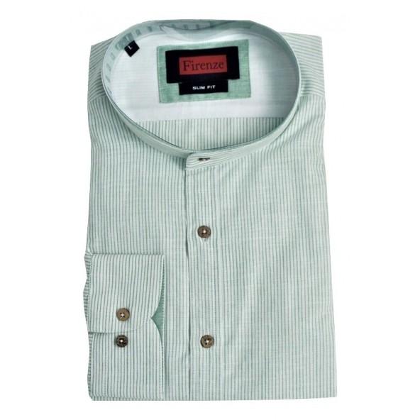 Firenze 019-5107 19418 stripy shirt green