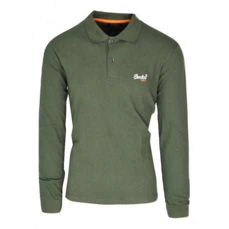 Paco 200302 t-shirt polo khaki