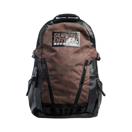 Superdry M9110165A 04O Backpack Dk brown