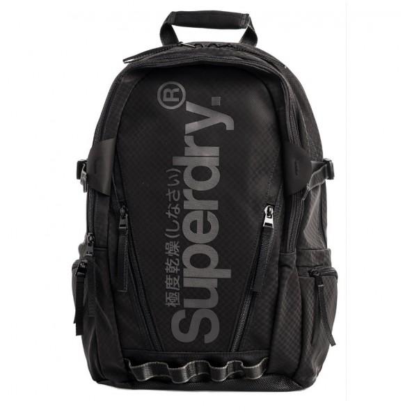 Superdry M9110127A 02Α ΤΣΑΝΤΑ BLACK