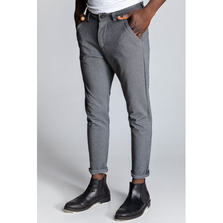 Edward 19.1.1.04.310 FILBERT-S130 PANTS 160 GREY MELANGE