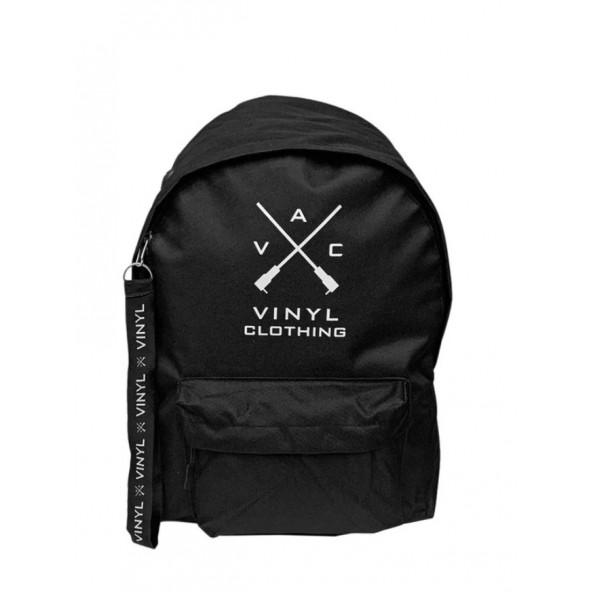 Vinyl art 70135 τσάντα μαύρο/λευκό