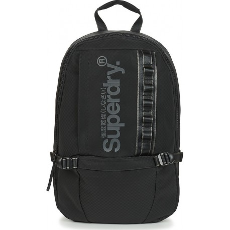 Superdry M9110199A 02A COMBARAY SLIMLINE BACKPACK BLACK