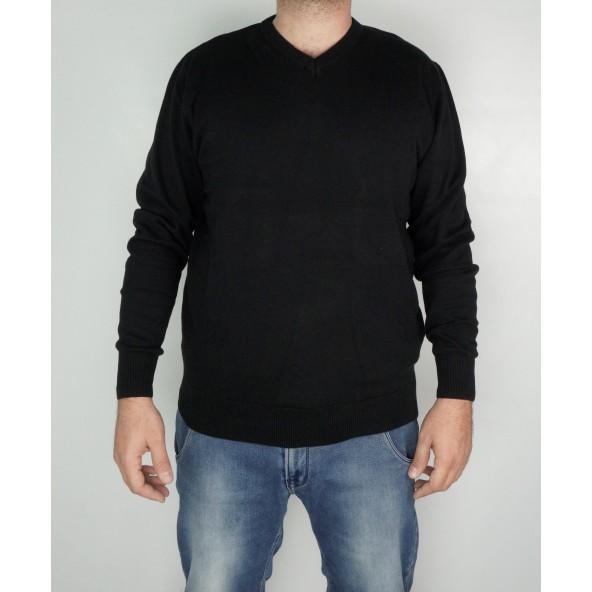 Double KNIT-51 μπλούζα μαύρη