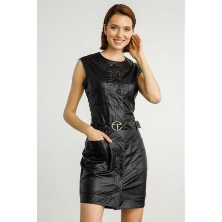 Catlin edward dress black wp-n-drs-w20-003
