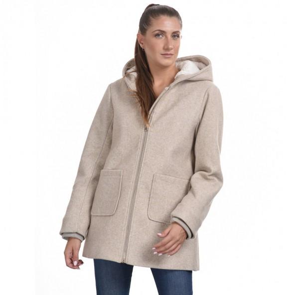 Splendid 44-101-085 demi παλτό μπεζ