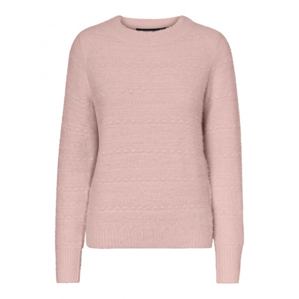 Vero moda 10232787 Sepia Rose Πουλόβερ