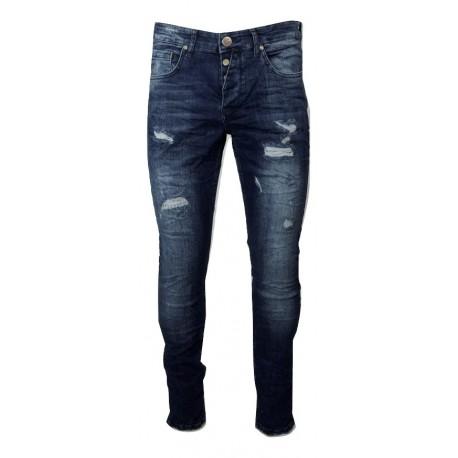 Senior 288 blue JEAN παντελόνι.