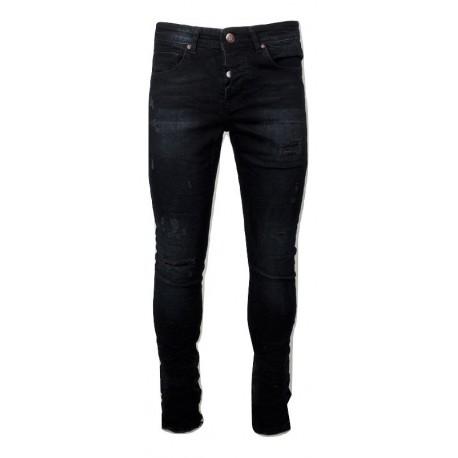 Senior 283 black JEAN παντελόνι.