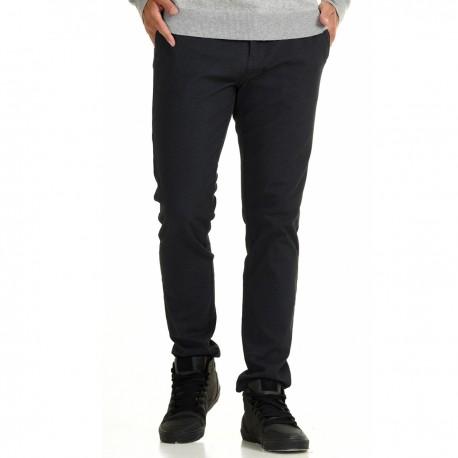 Biston 44-241-002 παντελόνι chinos μαύρο