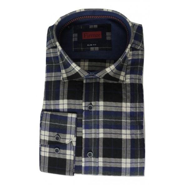Firenze 019-1119 W135 shirt μπλε