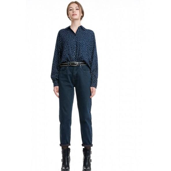 Funky buddha FBL002-162-02 blue black jean