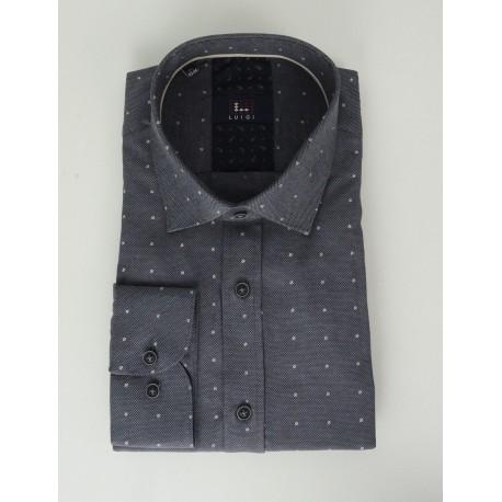 Luigi 019-5022 19739 shirt dk grey