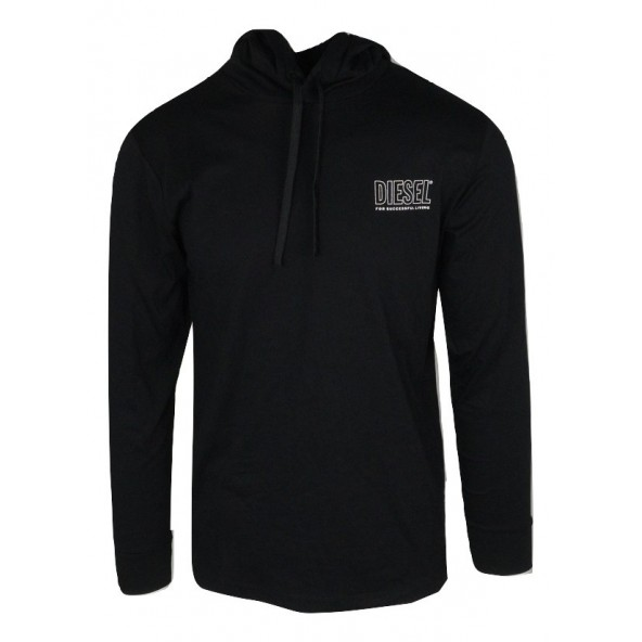 DIESEL JIMMY 00SCW4-0QAZN-900 T-SHIRT BLACK