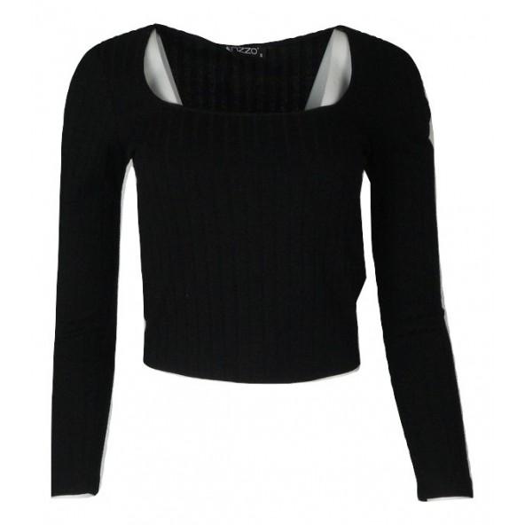 Enzzo 202195 black Μπλουζά