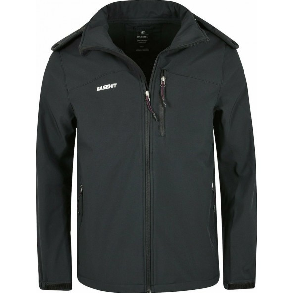 Basehit 202.BM11.09 jacket bd black